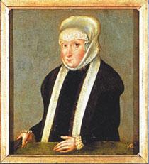 Fot. 1. Portret Izabeli Jagiellonki, Fundacja XX Czartoryskich przy Muzeum Narodowym w Krakowie, opracowany na podstawie fot. S. Michty.