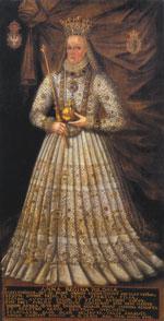 Fot. 10. Portret koronacyjny królowej Anny Jagiellonki, Katedra na Wawelu, opracowane na podstawie fot. S. Michty.